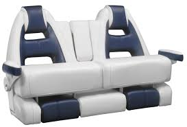 boat bench seat 2 seater with armrests mako 53 llebroc