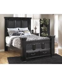 ashley storage bed hot spring bargains on signature design by ashley cavallino black
