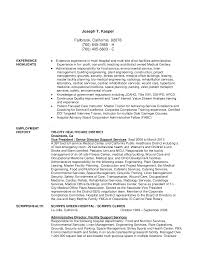 Resume Sample For Housekeeping Sample Resume Housekeeping Hospital Augustais