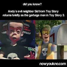 Garbage Man Meme - that s right sid b mean to toys and you ll end up a garbage