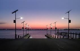 solar led dock lights solar boat r lighting mississippi greenshine new energy