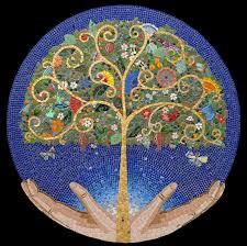 tree of irina charny mosaics