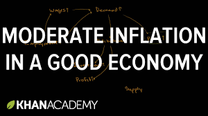 moderate inflation in a good economy inflation finance
