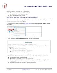Usajobs Resume Sample by Usajobs Application Manager Notifications Veterans