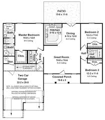 1500 Sq Ft Ranch House Plans 31 Best 1400 Square Foot House Plans Images On Pinterest