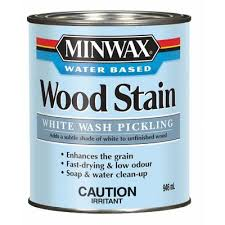 Minwax Water Based Stain With Minwax Water Based Wood Stain After by Minwax White Wash Pickling Stain 61860 Home Depot Canada