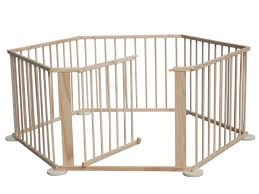 6 side baby child wooden foldable playpen play pen room divider