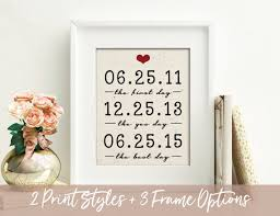 12 year anniversary gift for 2 year anniversary gift wedding gift important dates 2nd