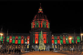 christmas lights san francisco what no more christmas trees in front of sf city hall annual