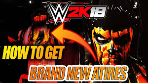 wwe 2k18 how to get new updated attires community creations