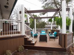 Ideas For Backyard Patios by Before And Afters Of Backyard Decks Patios And Pergolas Diy