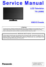 panasonic tx l50b6e service manual complete panasonic service