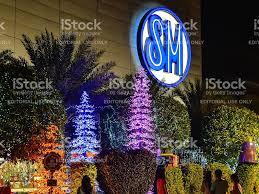 christmas decor sm mall of asia philippines stock photo 509666676