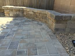 Limestone Patio Pavers by Paver Patio Roman Stone Seating Walls Roman Stone Water Feature