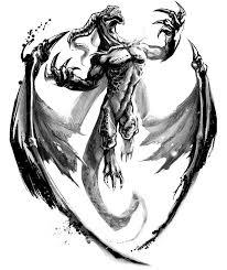 44 gothic dragon tattoos 3d gothic dragon tattoo design