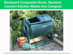 Backyard Composter Solid And Hazardous Waste Ppt Download