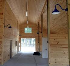 Barn Lamps Classic Barn Lights In A Space With A Heart For Thoroughbreds