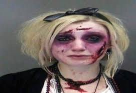 Fake Blood Halloween Costume Craziest Photos Arrested Halloween Gallery