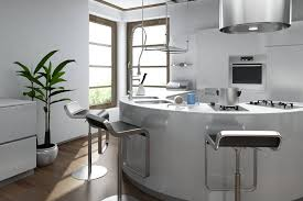 round kitchen island design small cubby hole kitchen with white