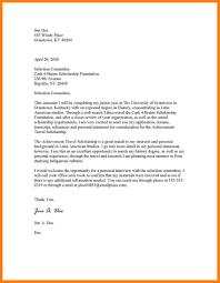 cover letter for scholarship sample choice image letter samples