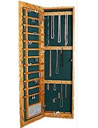 jewelry box wall mounted cabinet amazon com wall jewelry armoires jewelry boxes organizers