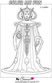 free printable star wars coloring pages queen amidala color page star wars coloring pages free
