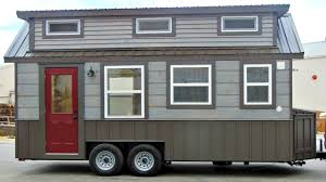tiny house on wheels barn rustic feel interior small home design