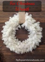 fur christmas fur christmas wreath design diy