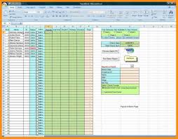Employee Vacation Accrual Spreadsheet Spreadsheet Sle Abstract Sle