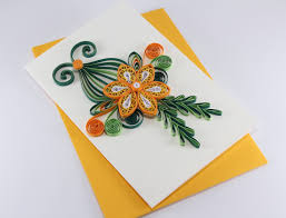 paper greeting cards handmade quilling birthday card handmade paper greeting card