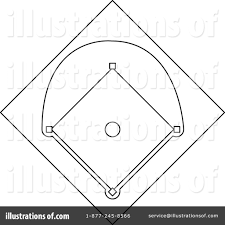 diamond clipart baseball diamond clipart 1074646 illustration by pams clipart