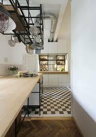 carrelage noir et blanc cuisine cuisine avec carrelage noir et blanc galerie et carrelage damier