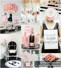 wedding shower themes bridal shower theme coco chanel via bajanwed party and bridal