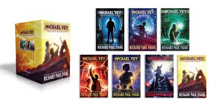 michael vey shocking collection books 1 7 book by richard paul