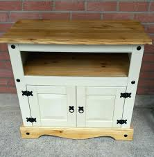 shabby chic corner tv cabinet with fleur white tv unit lounge