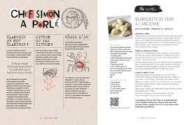 faire un livre de cuisine avez vous vu le nouveau livre du chef simon non du miel et