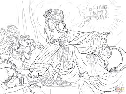 daniel in the lion u0027s den coloring page free printable coloring pages