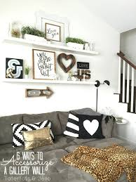 Wood Shelf Gallery Rail by 6 Ways To Accessorize A Gallery Wall Tatertots And Jello