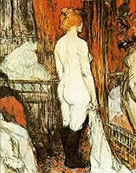 femme nue cuisine henri toulouse lautrec femme nue devant sa glace vintage