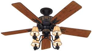 hunter oil rubbed bronze ceiling fan hunter 52 rustic lodge brittany bronze 3 speed pull chain ceiling