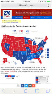 Election Interactive Map by Wi 1960 Election Goes To Congress Alternate History Discussion