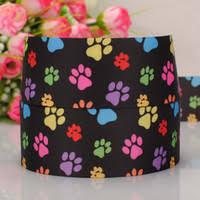 paw print ribbon wholesale paw print ribbon buy cheap paw print ribbon from