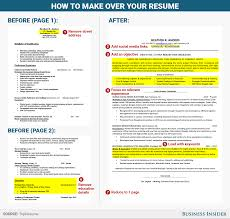 Sample Objectives For Your Resume by How To Rewrite Your Resume Business Insider