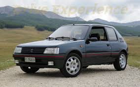 perso car peugeot 205 gti 1 9 davide cironi drive experience eng subs