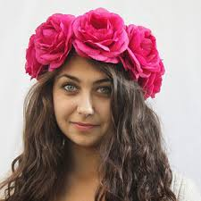 big flower headbands shop frida kahlo headband on wanelo