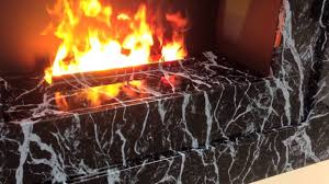 marble redway opti myst wall mount by ecoflame fireplaces youtube