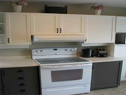 Two Tone Painted Kitchen Cabinet Ideas Kitchen Painted Two Tone Kitchen Cabinets Two Tone Kitchen