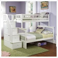 Twin Over Full Bunk Bed With Stairs Berg Furniture Enterprise - Twin over full bunk bed trundle