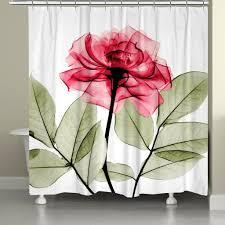 Kess Shower Curtains Bathroom Tulip Shower Curtain Tulip Shower Curtain Collection