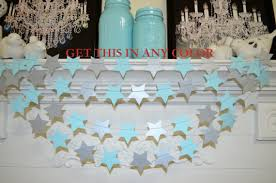 twinkle twinkle baby shower decorations twinkle twinkle garland blue galaxy silver